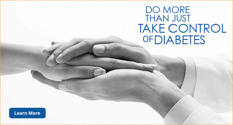 Do more than just take control of DIABETES